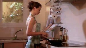 preparando una cena de amor